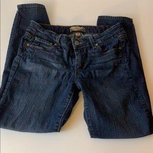 Paige peg skinny jeans size 28.